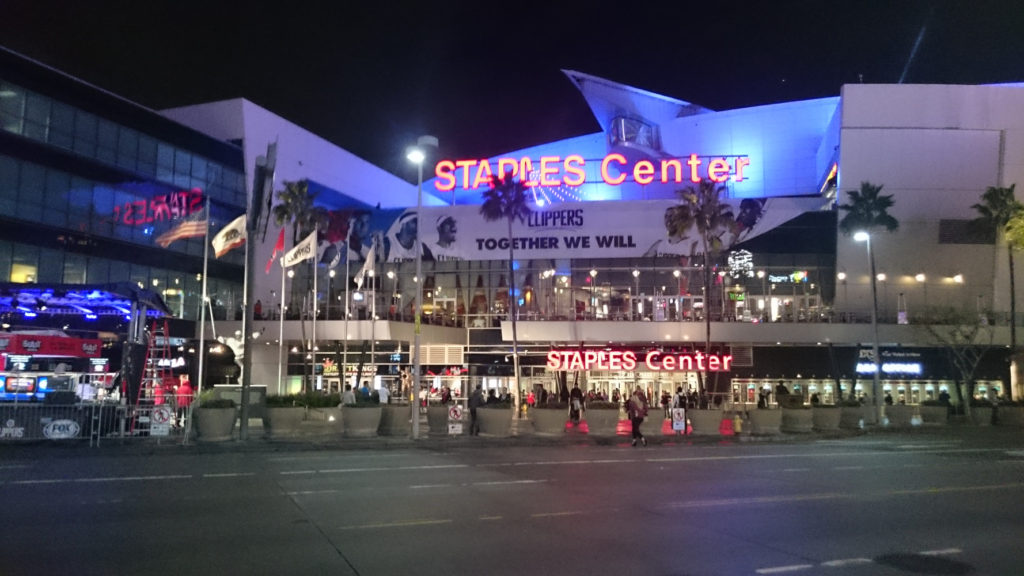 Staples Center外観